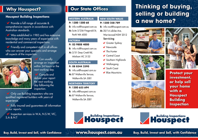 View Brochure: Houspect Brochure 2014