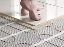Read Article: Heated Floors in Bathrooms (Heaven) – Not Expensive if Installed During the Build