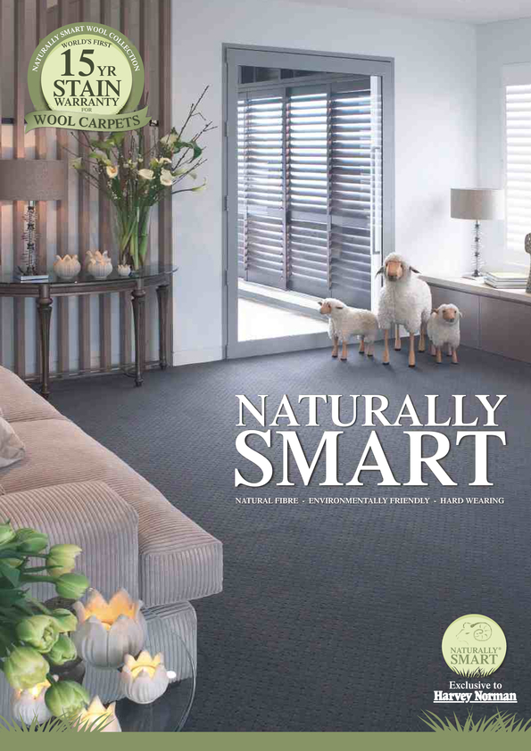 View Brochure: Naturally Smart Carpet Collection