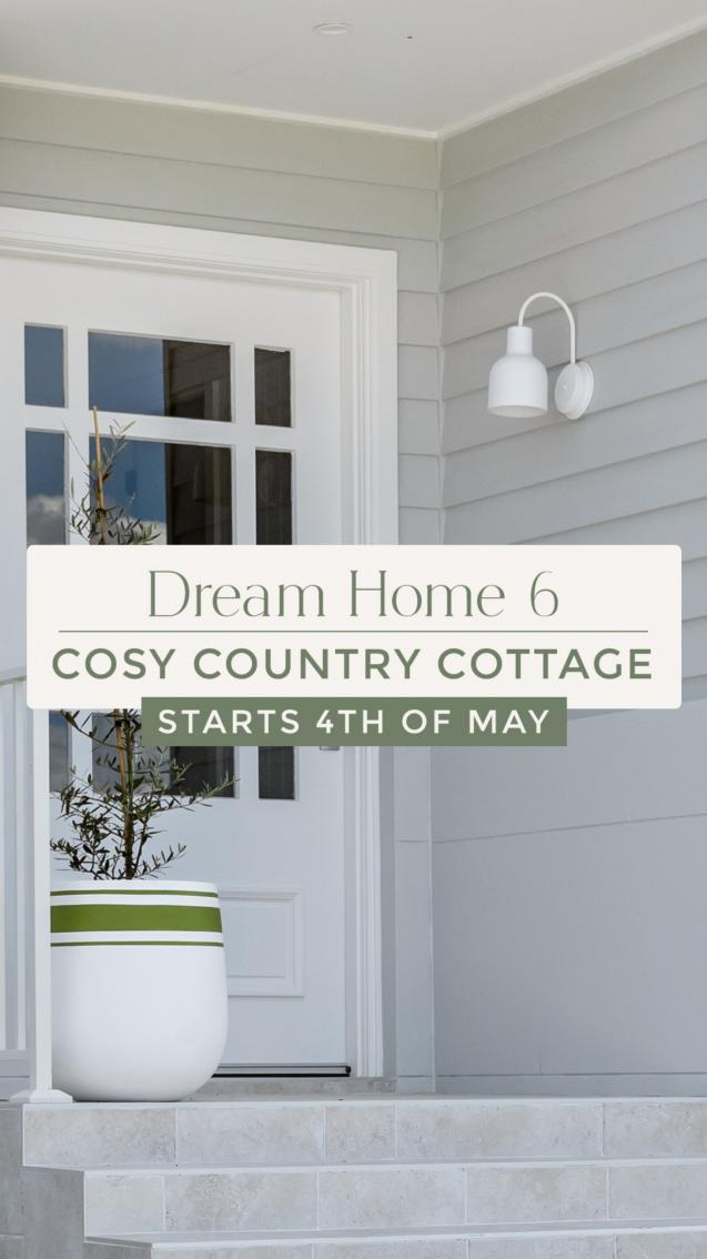 2 more sleeps until Oak & Orange's Dream Home 6 - Cosy Country Cottage