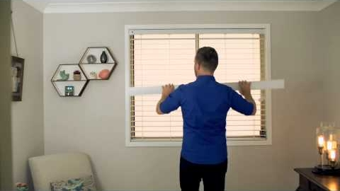 Watch Video: How to Install Venetian Blinds