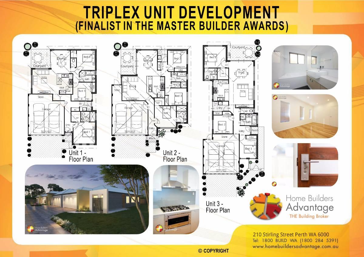 MBA Finalist Triplex Development