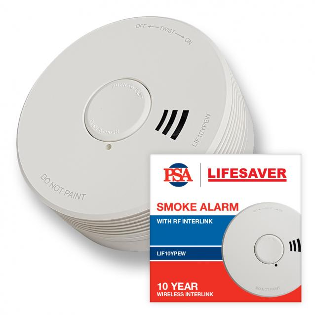 A real lifesaver: PSA's new smoke alarm will really go the distance for you