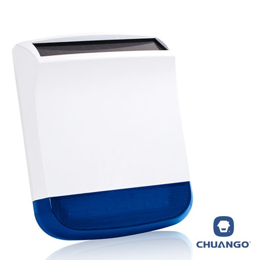 View Photo: Chuango External Solar-Powered Siren Strobe