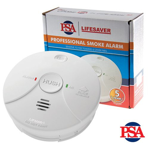 View Photo: Lifesaver 240VAC Ionisation Smoke Alarm