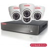 Pinkerton 8 Channel Dome Camera HD CCTV Kit