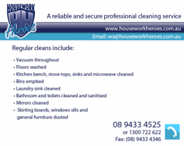 View Photo: Housework Heroes - Regular Cleaning