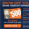 Want $500 to spend at iseekblinds?