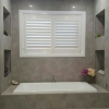 Express Plantation Shutter 'White' - Bathroom