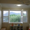 Express Plantation Shutter 'White' - Bedroom