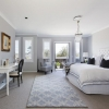 Plantation Shutters Basswood 'Bright White' - Bedroom
