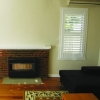 Plantation shutters Lounge room