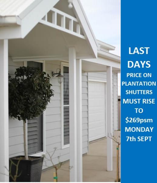 View Photo: Plantation Shutters Price To Rise