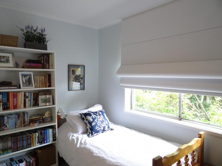 Roman Blinds - Bedroom