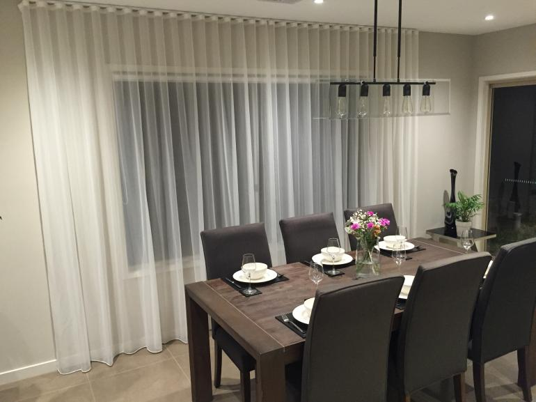 Sheers and Roller Blinds