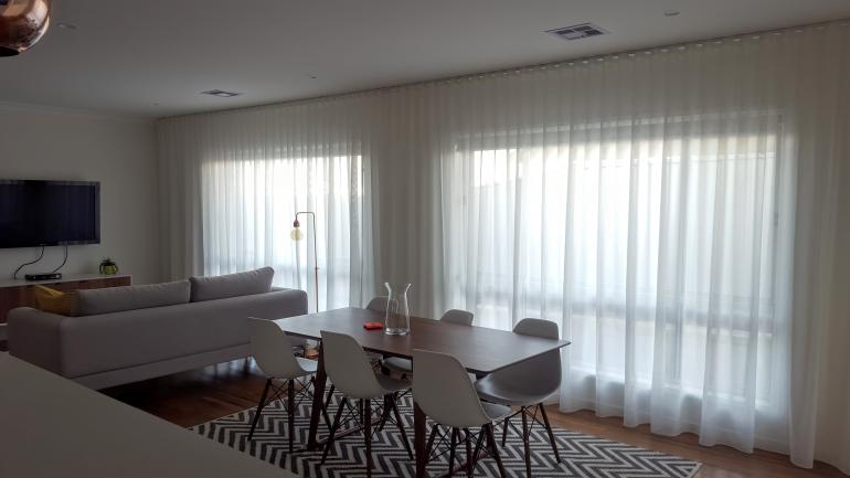 View Photo: Sheers & Motorised Roller Blinds