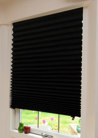 View Photo: Temporary Blinds - Black Blockout