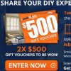 Want $500 to spend at iseekblinds? Entry via www.iseekblinds.com.au/company/photo-competition