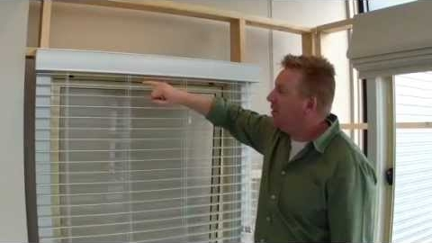 Watch Video : 50mm Visionwood Venetian Blinds