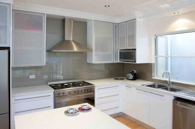 View Photo: Steel and White Kitchen