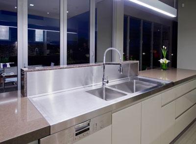 Custom Kitchen Sink Design Brisbane Photo : Interiors by Darren ...