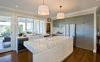 Kitchen Design Ideas Brisbane kitchen design marble stone benchtops photo : interiorsdarren