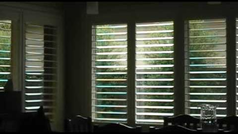 Watch Video: Plantation Shutters from Into Blinds