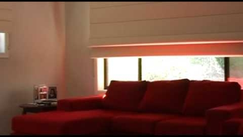 Watch Video: Roman Blinds