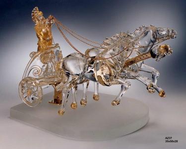 View Photo: Murano Crystal Chariot by Zanetti Murano
