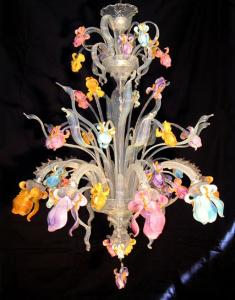View Photo: Murano Floral Chandeliers