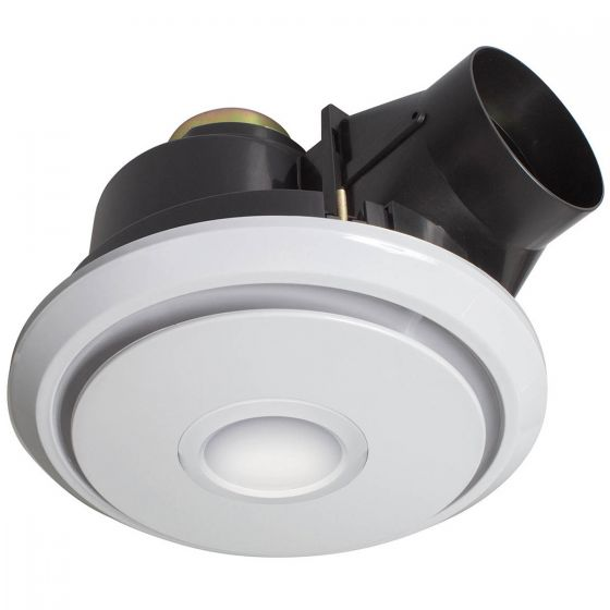 Brilliant Lighting Boreal 270mm Round Exhaust Fan & LED Light