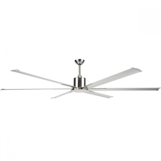 Brilliant Lighting Maelstrom 84 Industrial Style DC Ceiling Fan & Remote Control