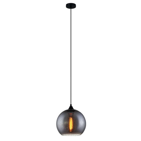 View Photo: CLA Lighting Chuva Wine Glass Smoked Pendant Light