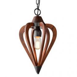 View Photo: CLA Lighting Senorita Wooden Pendant light -Small