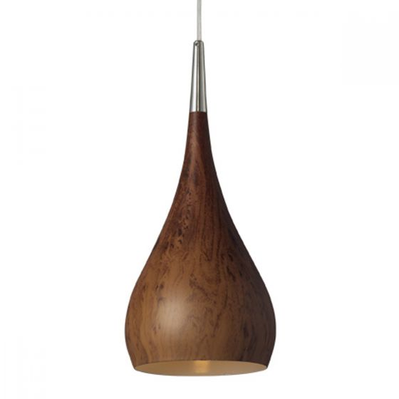 View Photo: CLA Zara Metal & Polycarbonate 160mm Small Pendant Light