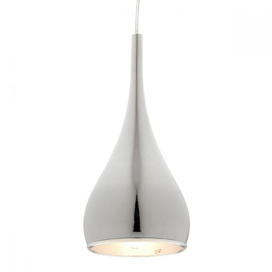 Cougar Lighting Aero Modern Tear-Drop Metal Pendant Light