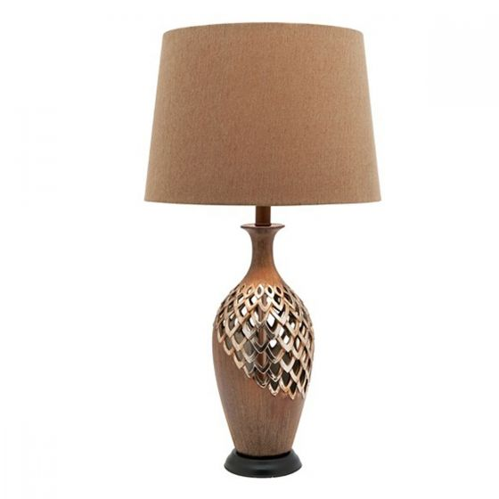 Cougar Lighting Blomeley Antique Style Table Lamp