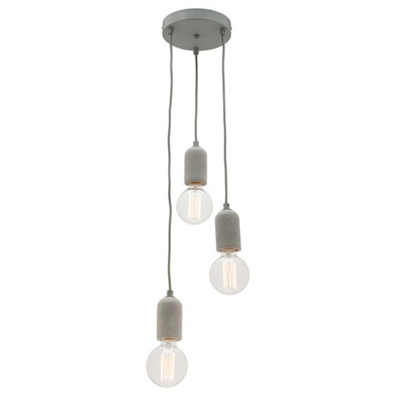 View Photo: Cougar Lighting Cemi 3 Light Cord Drop Pendant