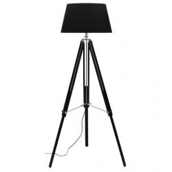 View Photo: Cougar Lighting Idaho Black and Chrome Floor Lamp