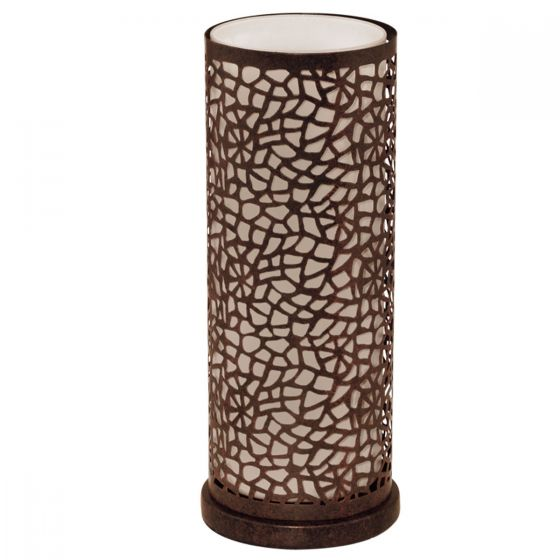 View Photo: Eglo Almera Brown Metal & Glass Designer Table Lamp