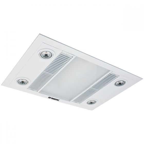 Martec linear 3 in 1 bathroom heat light photo jd - Bathroom ceiling light with heater ...
