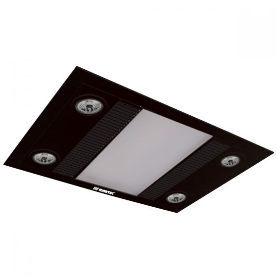 View Photo: Martec Linear 3-In-1 Bathroom Heat Light Exhaust Fan - Matt Black - Limited Edition