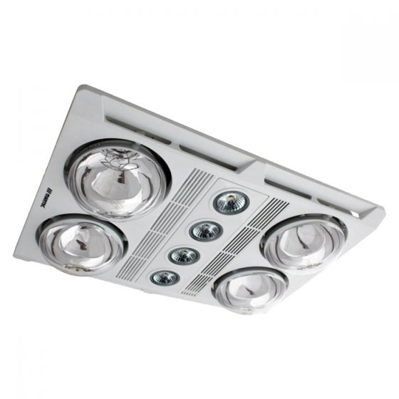 View Photo: Martec Profile Plus 4 LED Bathroom 3-In-1 Heat Light Exhaust Fan