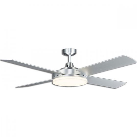 View Photo: Martec Razor 52 Low Profile Ultra Slim Ceiling Fan & 28W LED Light