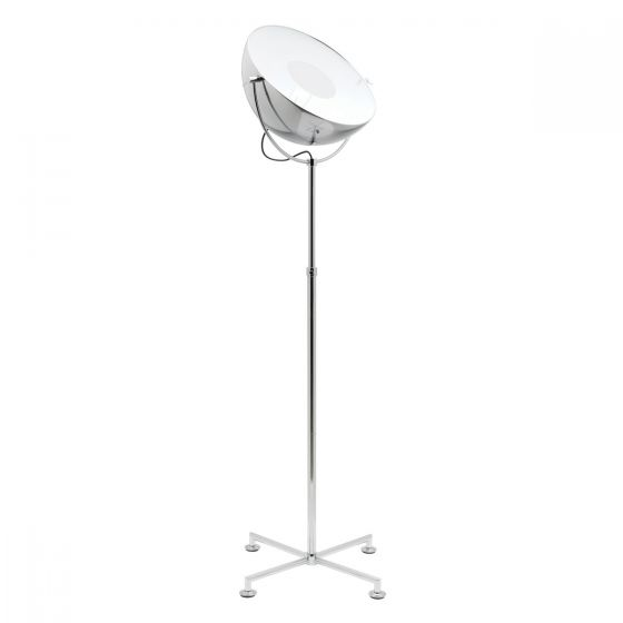 Mercator Comet Studio Style Floor Lamp - Chrome