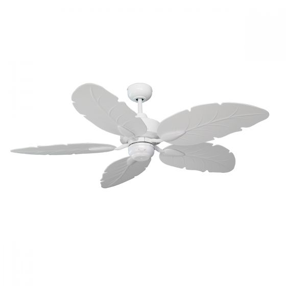 View Photo: Mercator Cooya 52 Moulded ABS Leaf Blade Outdoor Ceiling Fan