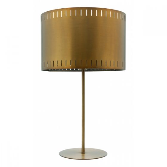 View Photo: Mercator Figaro Brass 1 Light Metal Table Lamp