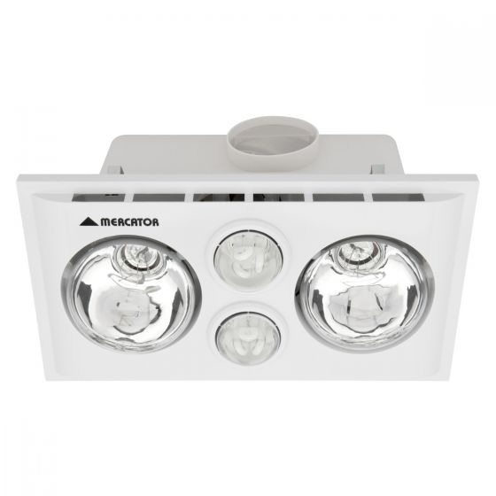 View Photo: Mercator Lava Duo Bathroom 3-In-1 Heat Light Exhaust Fan
