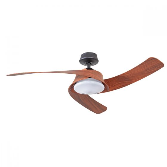 Mercator Monterey 52 DC Ceiling Fan with 18W LED Light & Remote