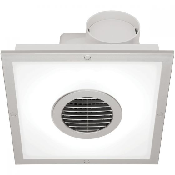 View Photo: Mercator Skyline Square Exhaust Fan With T5 Light